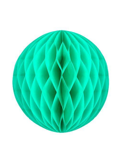 Bola de papel alveolada 12 cm                                                                             VERDE