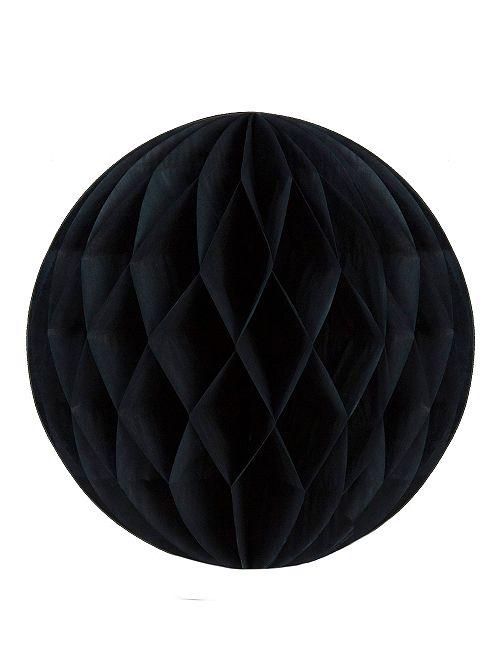 Bola de papel alveolada 20 cm                                                                             negro