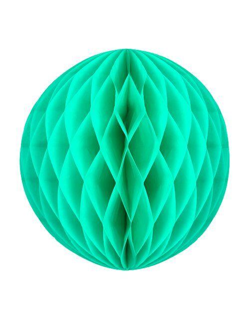 Bola de papel alveolada 20 cm                                                                             VERDE