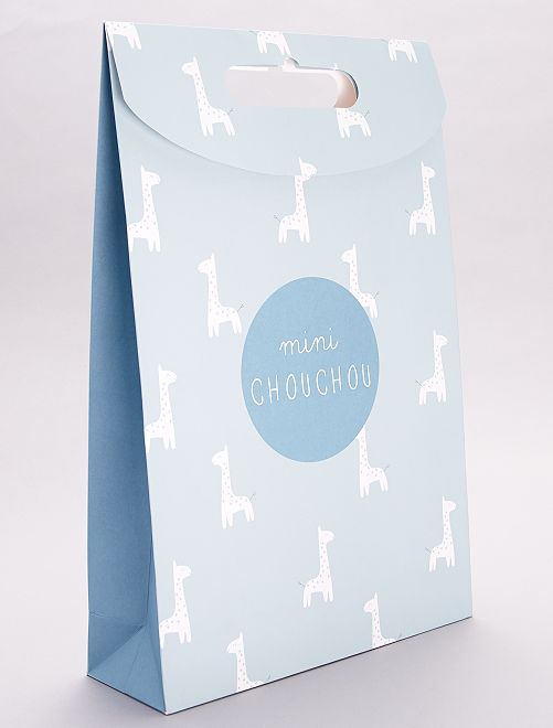 Bolsa de regalo de papel reciclado                                                     VERDE