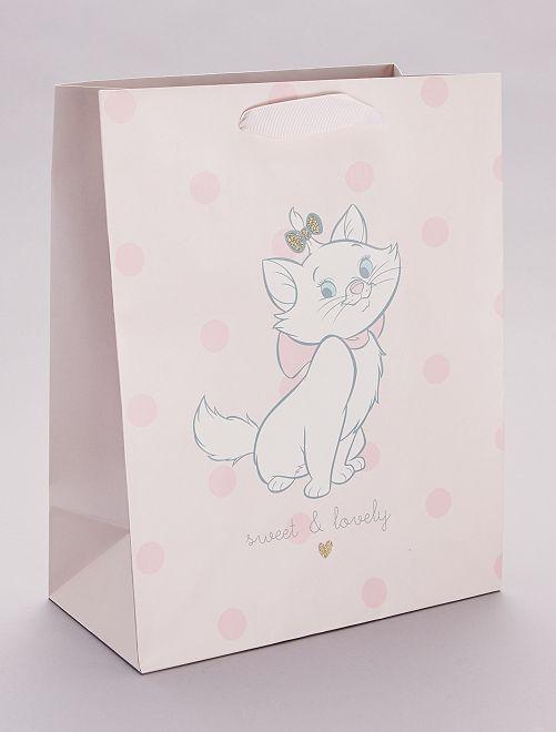 Bolsa de regalo 'Marie' 'Los Aristogatos' 'Disney'                             rosa