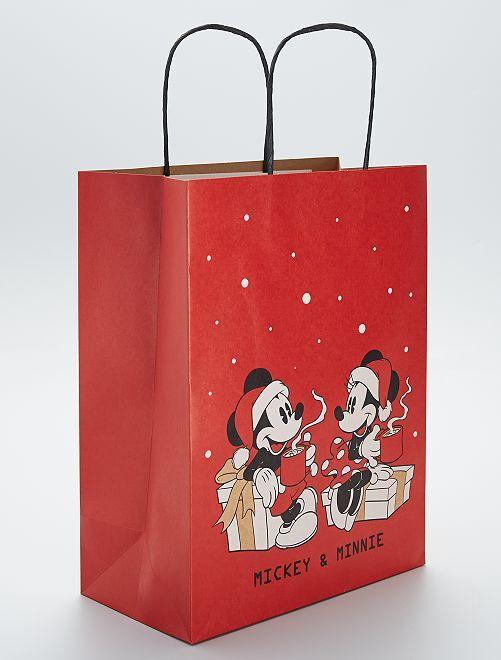 Bolsa de regalo 'Mickey y Minnie' de 'Disney'                             ROJO