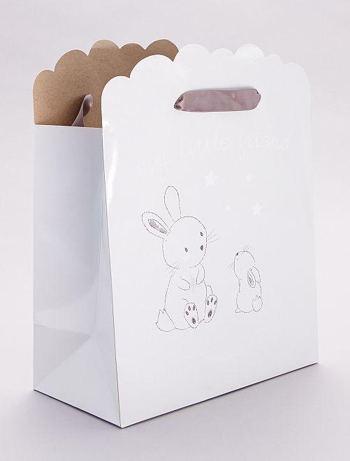 Bolsa de regalo para bebé                                                                 beige gris