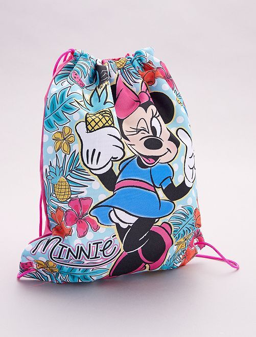 Bolsa para la piscina 'Minnie Mouse' 'Disney'                             rosa/verde