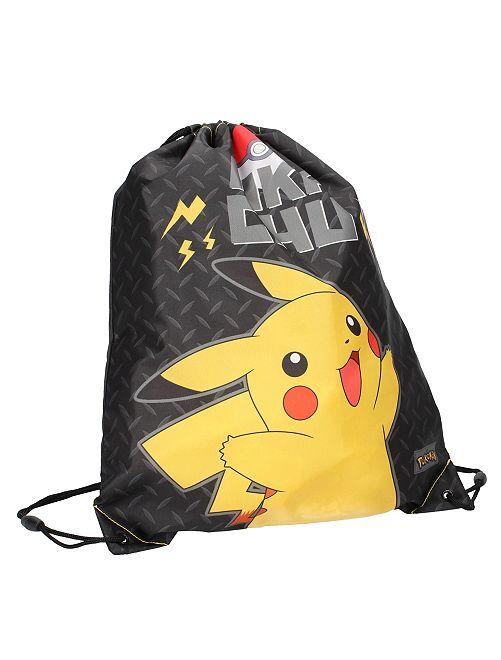 Bolsa para la piscina 'Pokemon'                             NEGRO Chico
