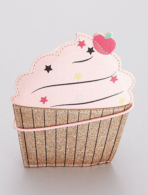 Bolso brillante 'cupcake'                             ROSA