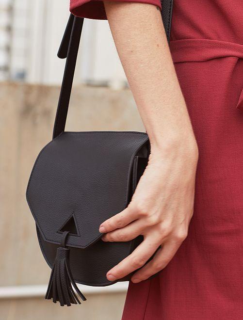 Bolso con bandolera                                                                             negro Mujer talla 34 a 48