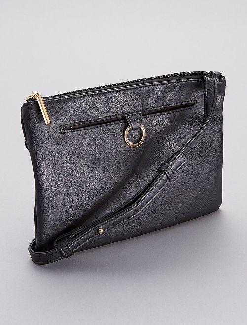 Bolso pequeño con bandolera                                         negro