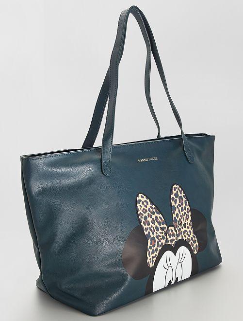Bolso shopper grande 'Minnie'                             VERDE