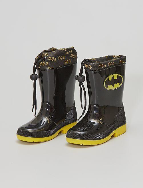Botas de agua 'Batman'                             negro