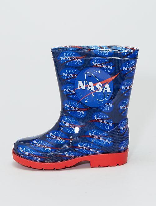 Botas de agua de PVC 'NASA'                             AZUL