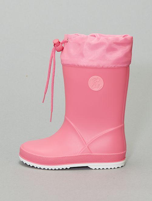 Botas de agua de PVC                             rosa