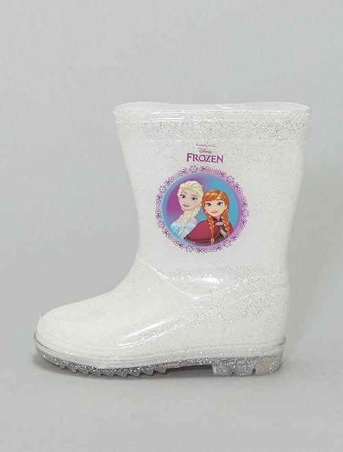 Botas de agua 'Frozen'                             blanco