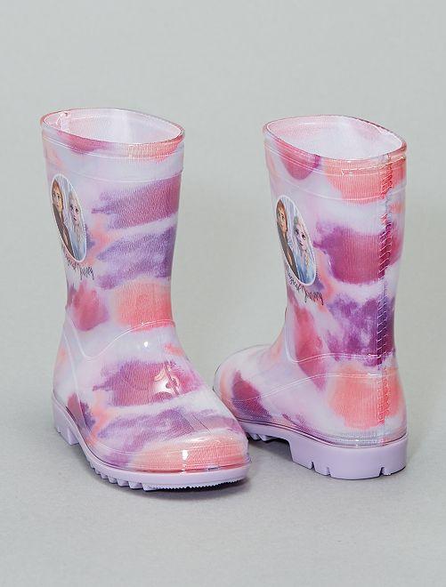 Botas de agua 'Frozen'                             PURPURA