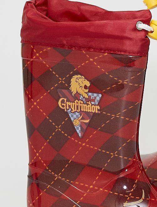 Botas de agua 'Gryffindor' 'Harry Potter'                             rojo