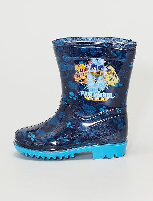 Botas de agua 'La Patrulla Canina'                             azul oscuro
