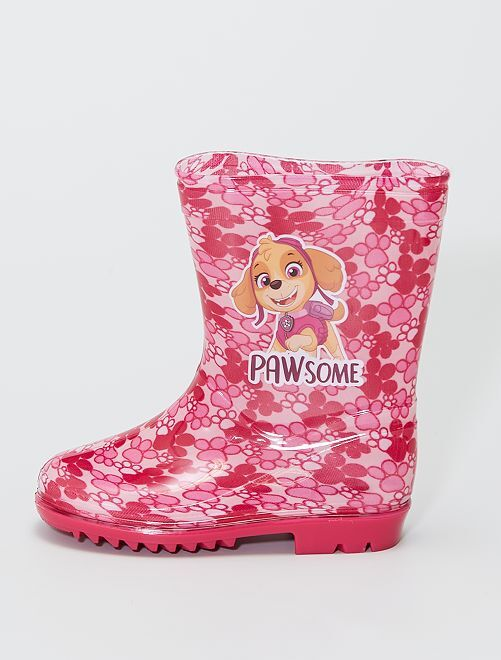 Botas de agua 'La Patrulla Canina' 'Nickelodeon'                             fucsia