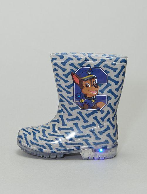 Botas de agua luminosas 'La Patrulla Canina'                             azul