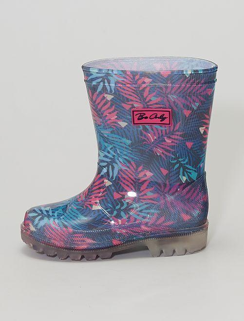 Botas de agua luminosas                             multicolor