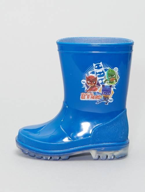 Botas de agua luminosas 'PJ Masks'                             azul Bebé niño
