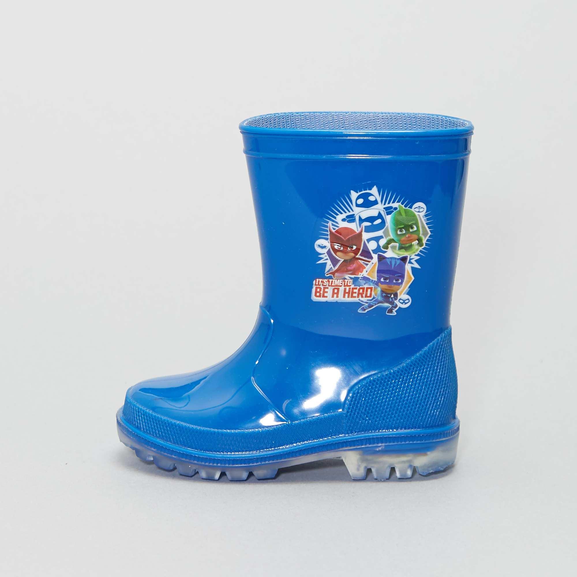 516dea48 Botas de agua luminosas 'PJ Masks' Bebé niño - azul - Kiabi - 9,00€