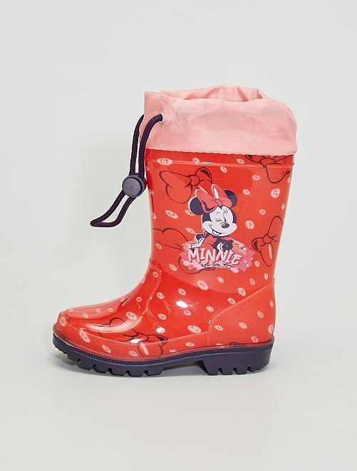 Botas de agua 'Minnie Mouse'                             rojo