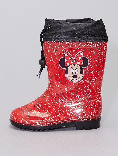 Botas de agua 'Minnie'                             rojo