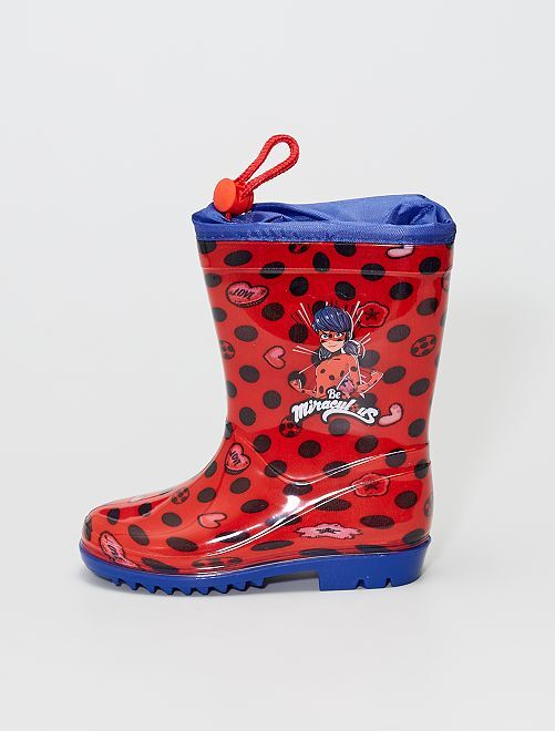 Botas de agua 'Miraculous'                             rojo