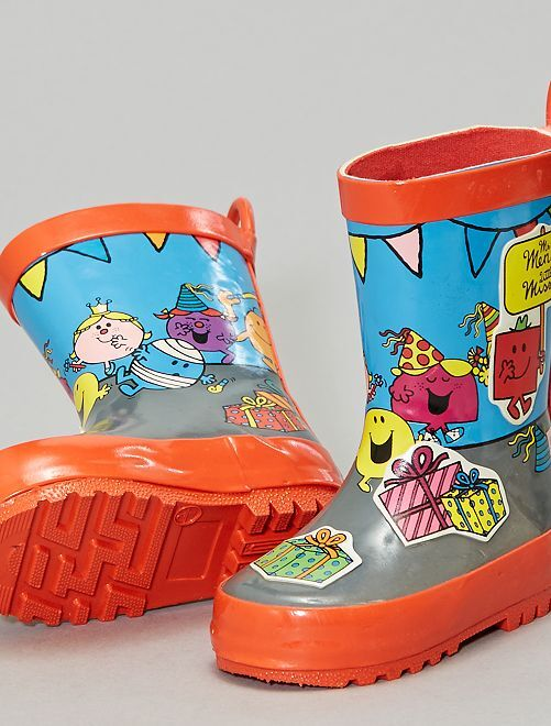 Botas de agua 'Mr. Men Little Miss'                             rojo