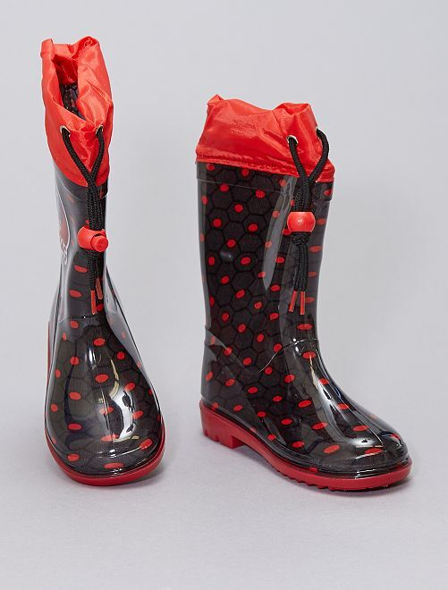 Botas de agua 'Prodigiosa'                             rojo