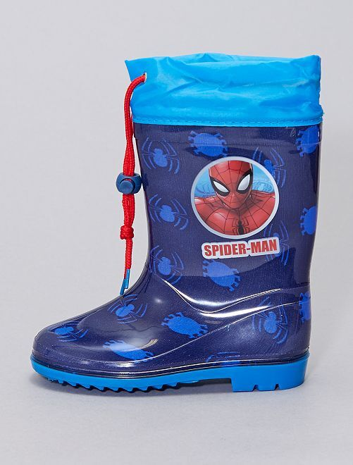 Botas de agua 'Spider-Man'                             azul marino