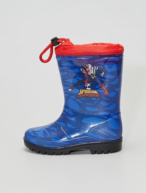 Botas de agua 'Spider-Man'                             azul