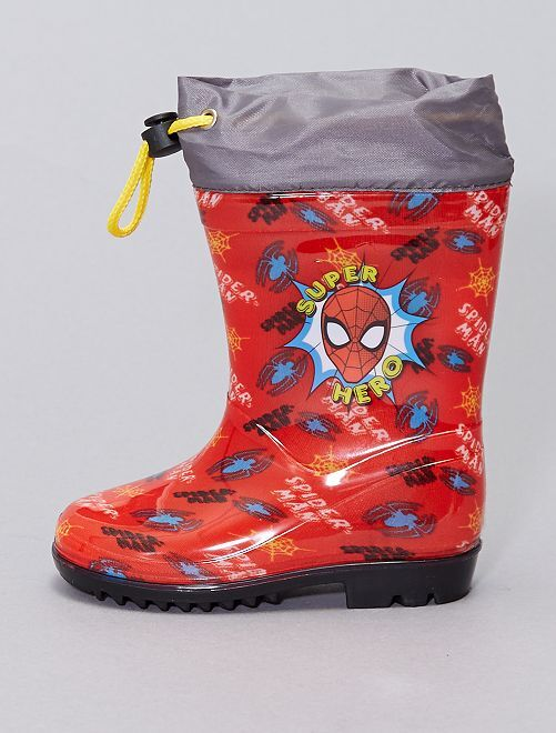 Botas de agua 'Spider-Man' 'Marvel'                             rojo