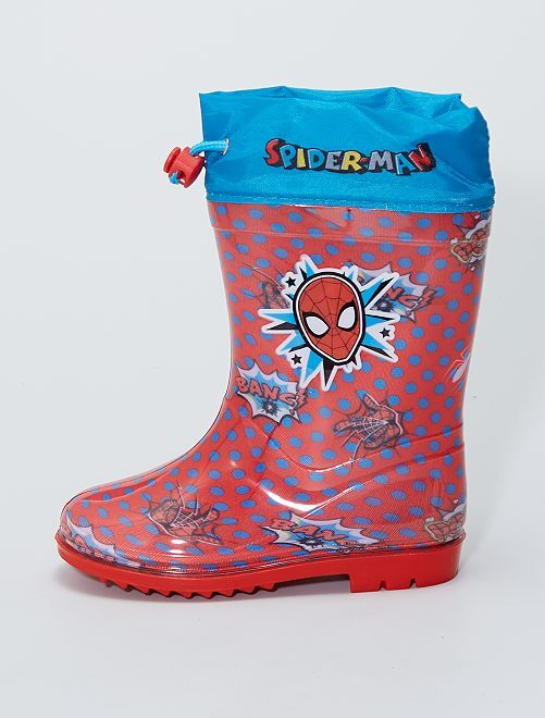 Botas de agua 'Spider-Man'                             rojo