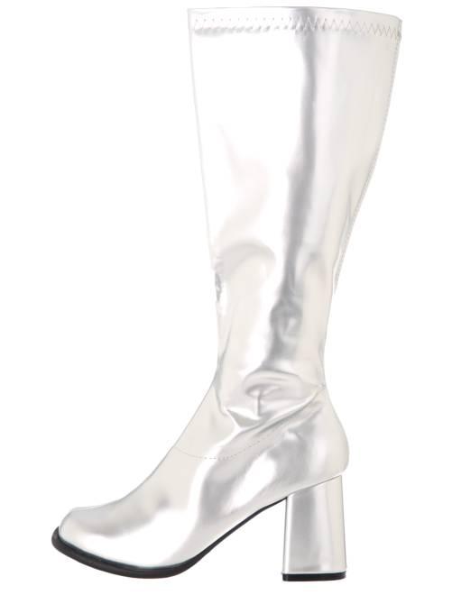Botas de estilo disco                     plata Mujer