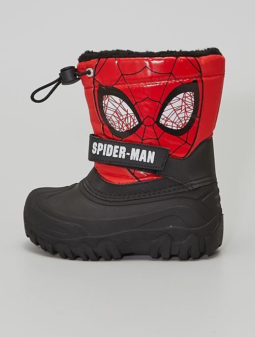 Botas de nieve 'Spider-man'                             NEGRO