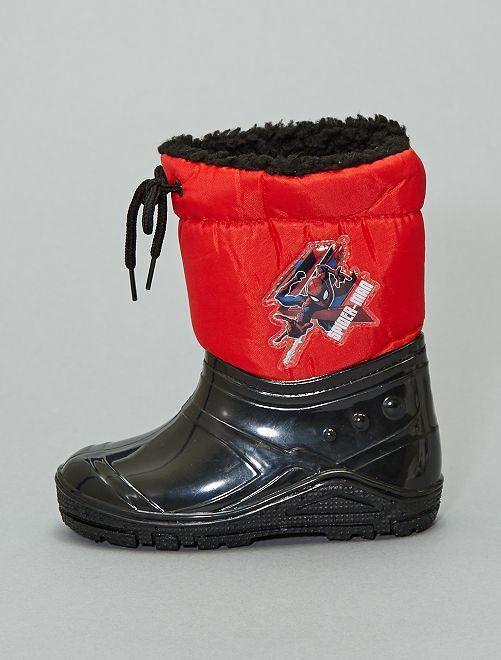 Botas de nieve 'Spider-Man'                             negro/rojo