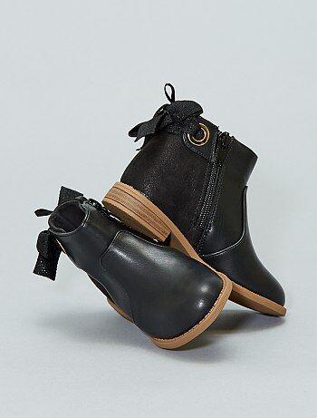 Zapatos - Botines bicolores - Kiabi