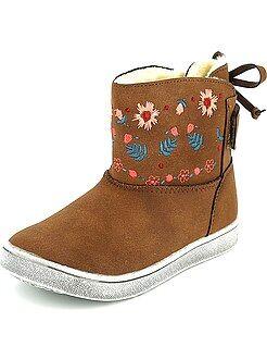 Boots, botas - Botines de antelina - Kiabi