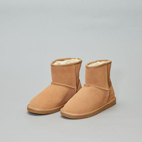 hombre Tienda online últimos diseños diversificados Botines forrados de piel Zapatos - NEGRO - Kiabi - 35,00€