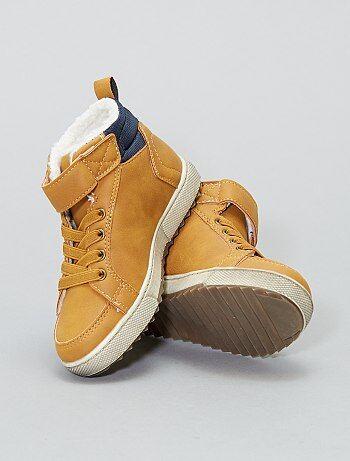 Botines forrados tipo zapatillas - Kiabi
