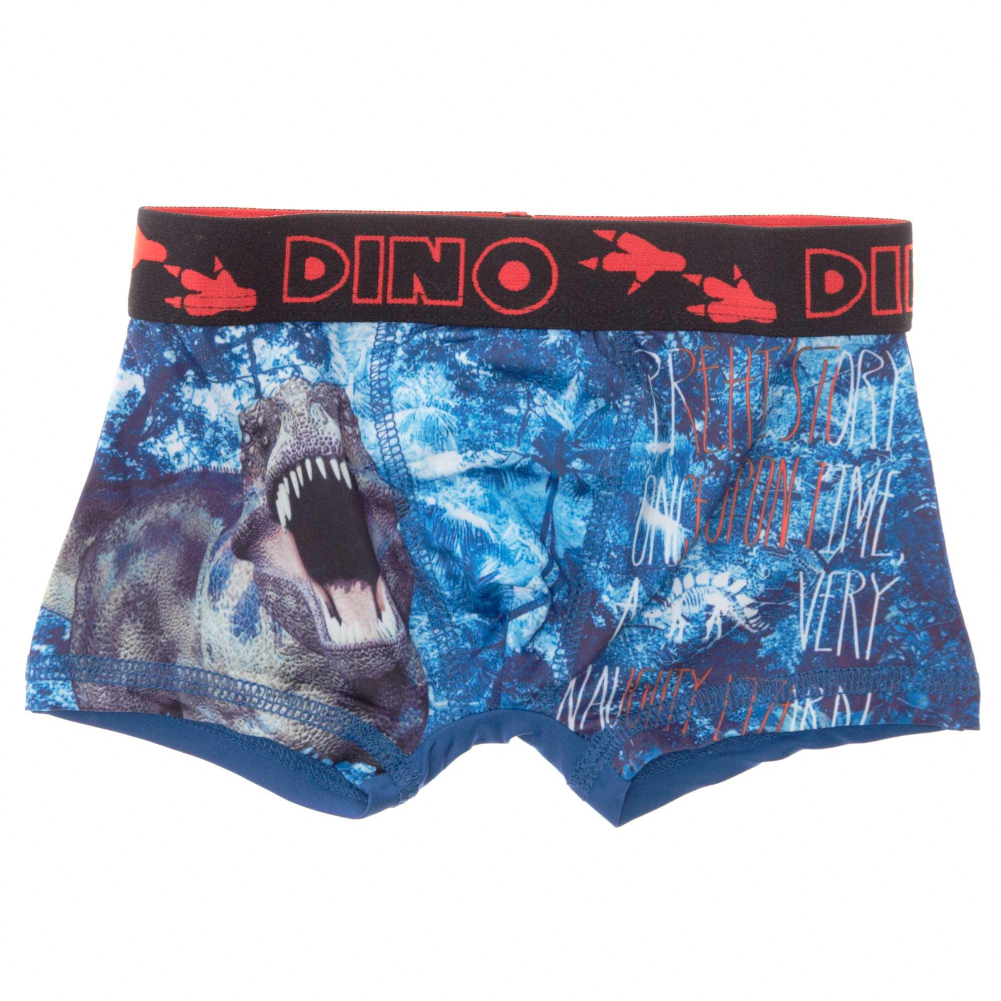 Boxer con estampado de dinosaurio chico kiabi 4 00 for Ropa interior chico
