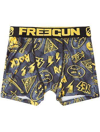 Boxer 'Freegun' con estampado 'Logo Rock' - Kiabi
