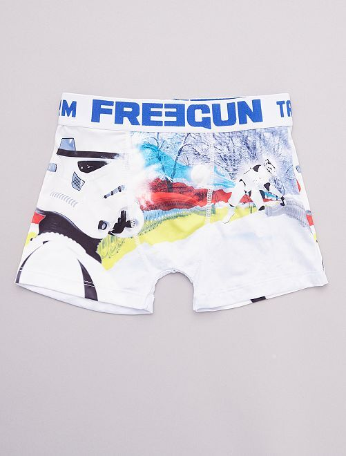 Boxer 'Freegun' estampado 'Star Wars'                             BLANCO