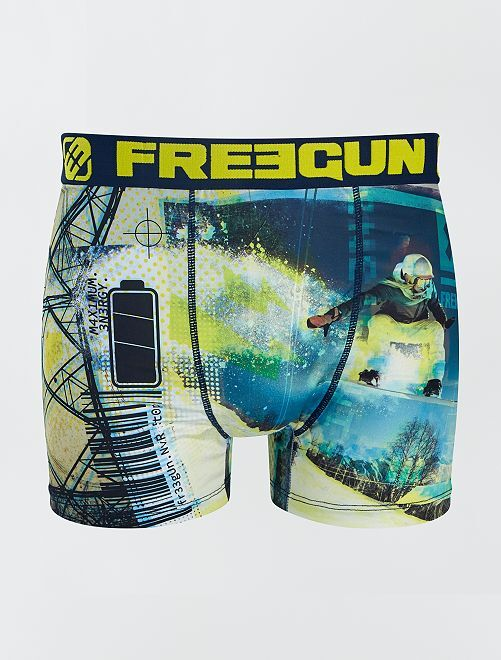 Bóxer 'snowboard' 'Freegun                             AMARILLO