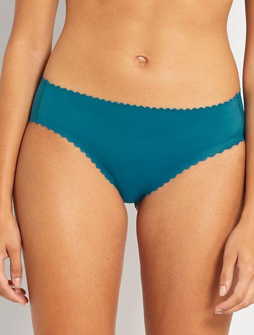 Braguita Body Touch segunda piel de 'DIM'                                                                 azul
