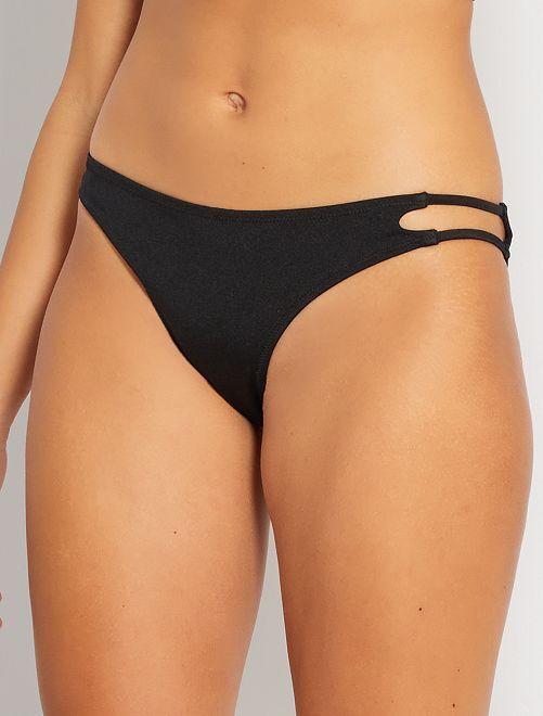 Braguita brasileña de bikini                             negro
