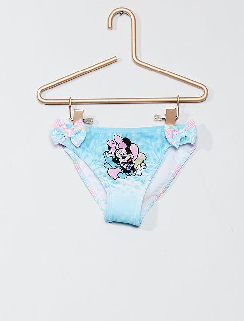 Braguita de baño estampada 'Minnie'                                         azul