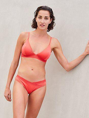2c87def42 Mujer talla 34 a 48 - Braguita de bikini con detalles calados - Kiabi