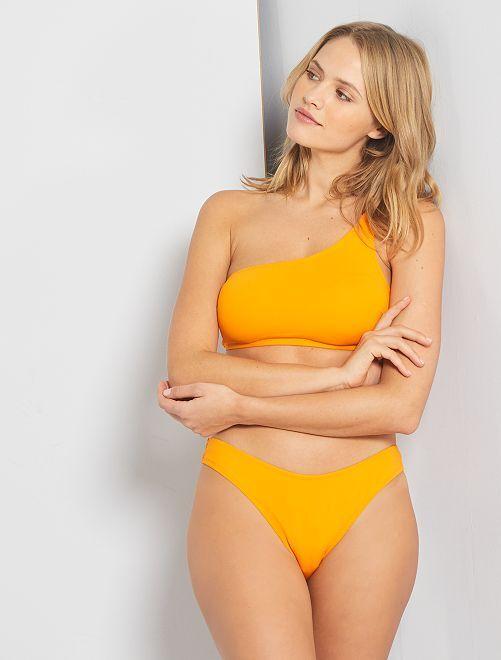 Braguita de bikini escotada                             AMARILLO